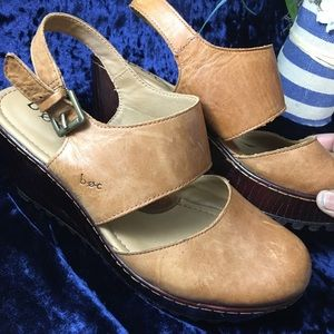 boc Shoes - B.O.C. Leather chunky sandals size 9m